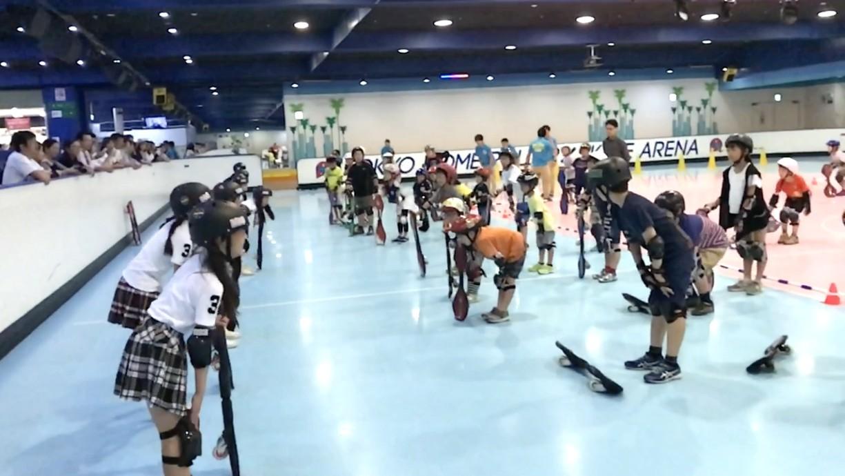 BBG 東京ドームブレイブボードタイムBBダンスストレッチ