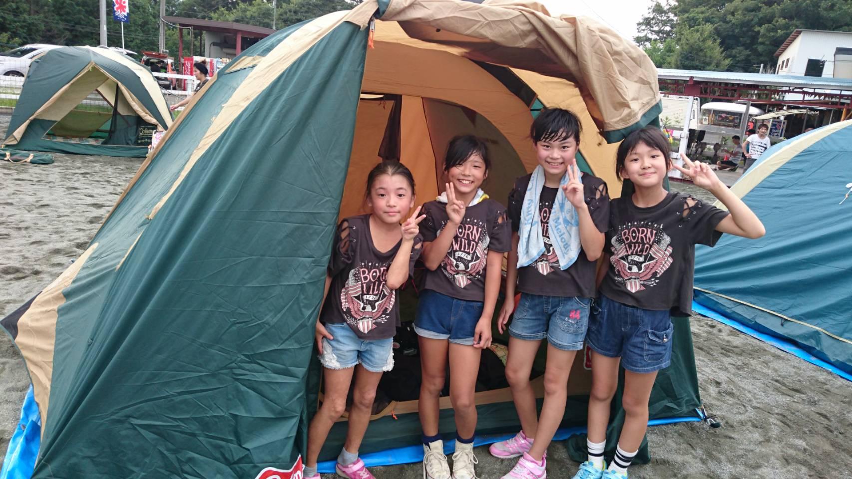 BBG合宿 テント